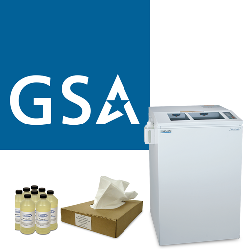 GSA Shredders and Supplies